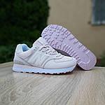 Женские кроссовки New Balance 574 (бледно-розовые) 20148, фото 8