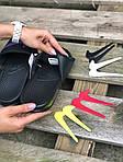 Мужские летние шлепанцы Nike со сменными свишами (черные) 211, фото 3