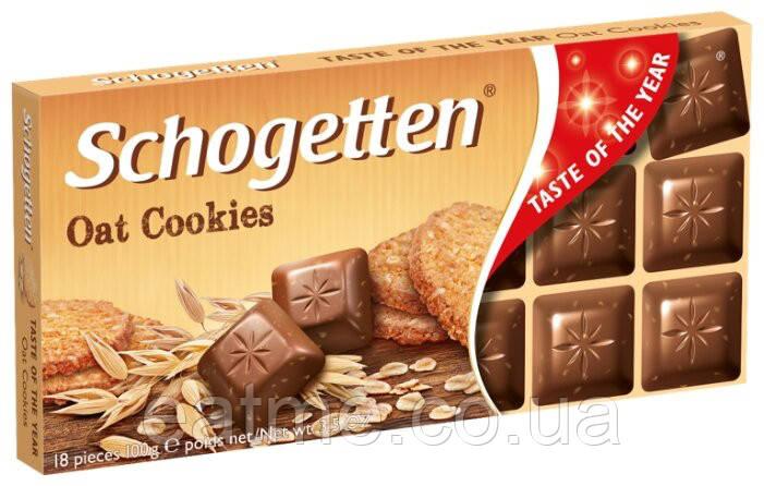 Schogetten Молочный шоколад с кусочками шоколадного печенья