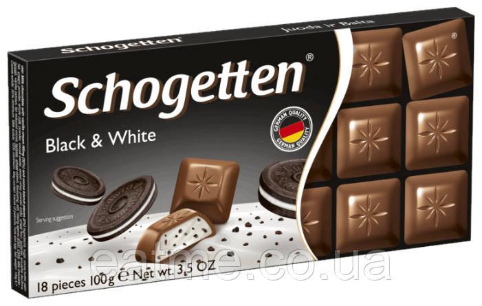 Schogetten Молочный шоколад с молочным кремом и кусочками шоколадного печенья