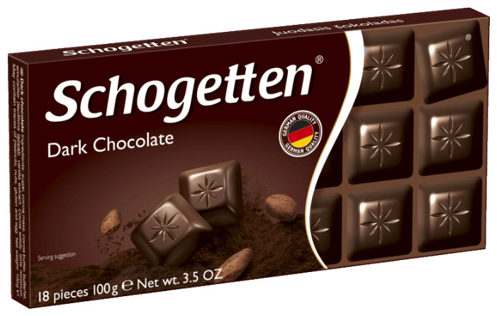 Schogetten Чёрный шоколад
