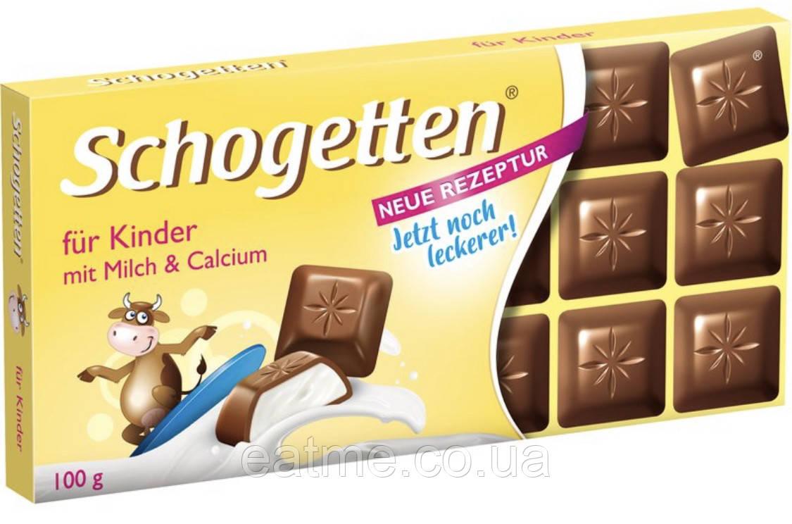Schogetten Молочный шоколад со сливочной начинкой