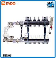 Комплект для подключения системы теплый пол FADO SEN05 FLOOR 5 выходов
