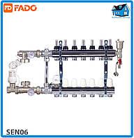 Комплект для подключения системы теплый пол FADO SEN06 FLOOR 6 выходов