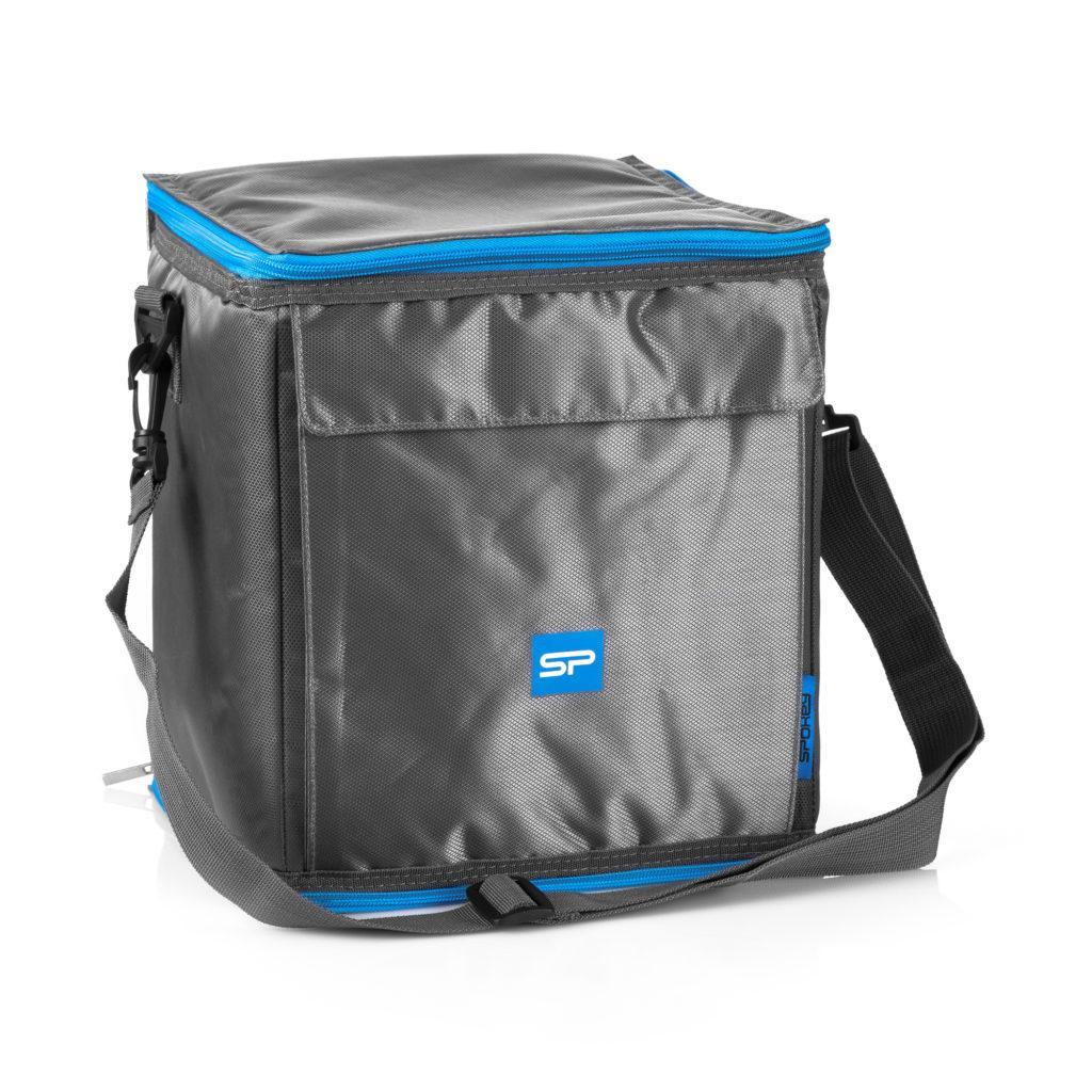 Термосумка (работает без аккумуляторов!) Spokey ICECUBE 4 921882, ланч-бокс, сумка-холодильник 12л