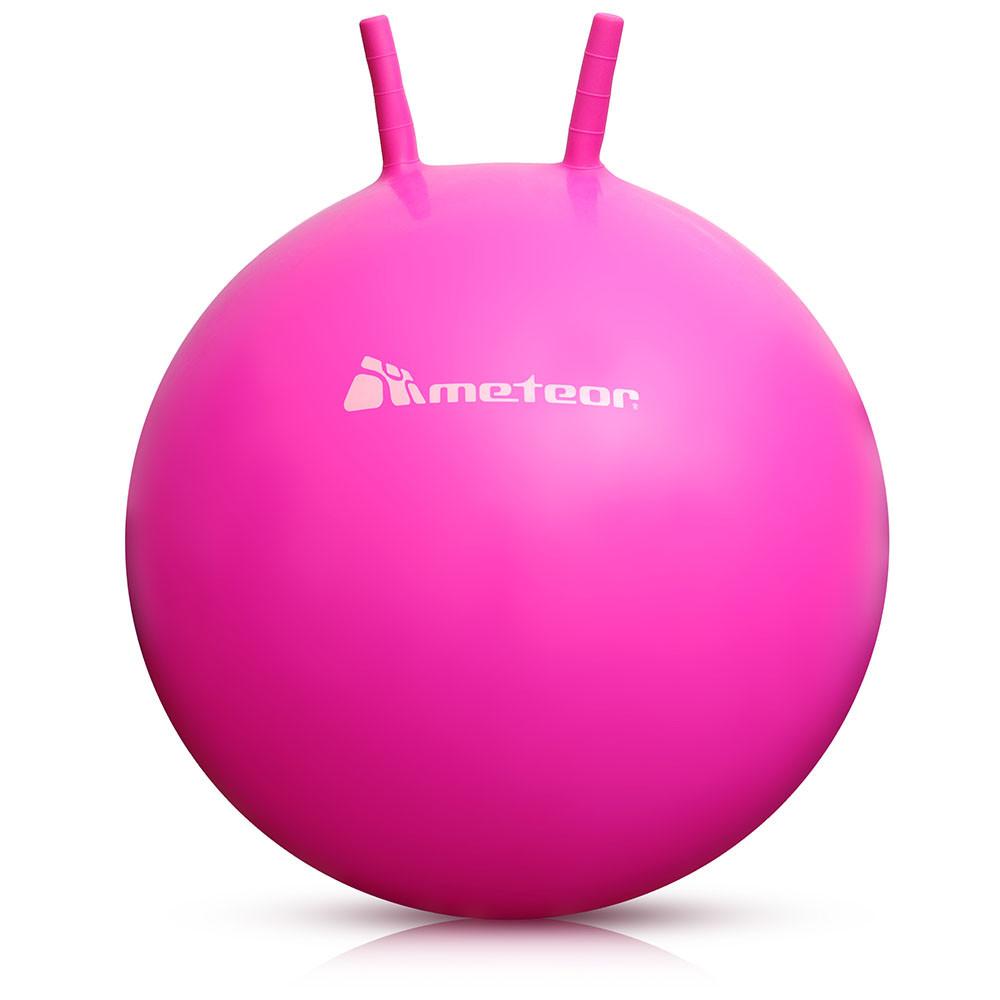 Гимнастический мяч с рожками METEOR 55 см (original), фитбол, мяч для фитнеса