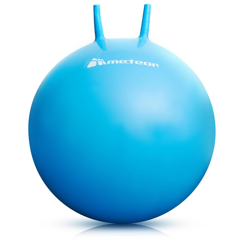 Гімнастичний м'яч з ріжками METEOR 65 см (original), фітбол, м'яч для фітнесу
