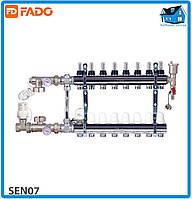 Комплект для підключення системи тепла підлога FADO SEN07 FLOOR 7 виходів