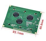 Индикатор графический ЖКИ  с подсветкой QC12864 Желтый, фото 5