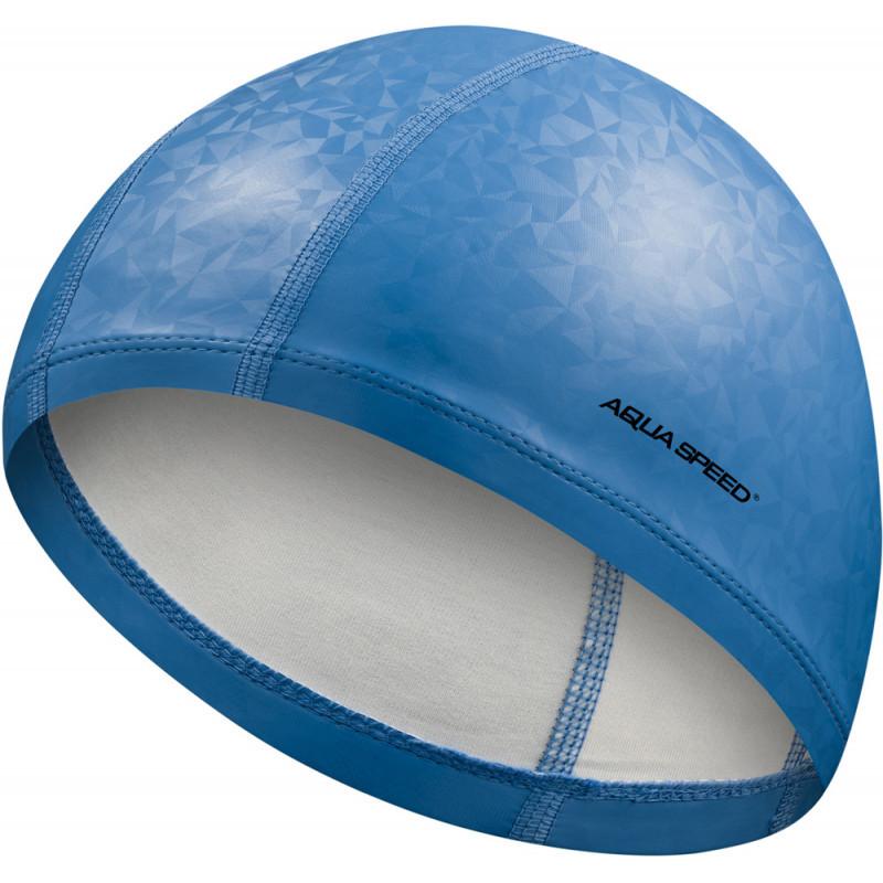 Шапочка для плавания Aqua Speed Flux 7293 (original) тканевая, для бассейна, взрослая