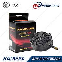 Wanda 12 1/2x2 Камера для велосипеда або коляски вигнутий ніпель AV