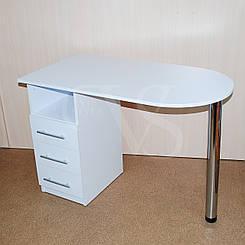 Стол складной для маникюра. 105*55 высота 73 см.