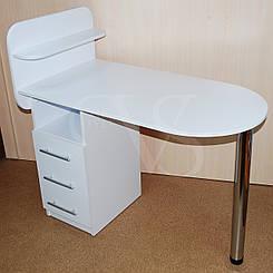 Маникюрный стол с полками. 105*55 высота 73 см.