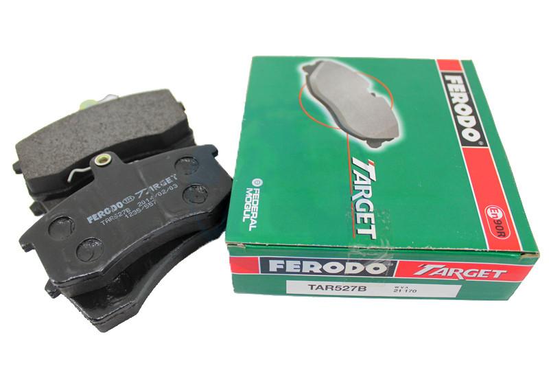 Колодки тормозные ВАЗ 2108 передние FERODO комплект TAR527 зеленые 2109 21099 2113 2114 2115 1118 2110