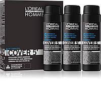 L'Oreal Professionnel Cover 5' - Безаміачний тонуючий гель для волосся 50 мл. #5 (світлий шатен)