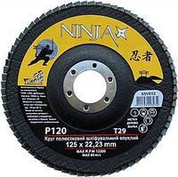 Пелюстковий круг NINJA 125x22 P120