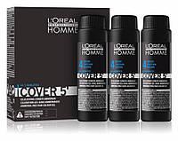 L'Oreal Professionnel Cover 5' - Безаміачний тонуючий гель для волосся 50 мл. #4 ( шатен)