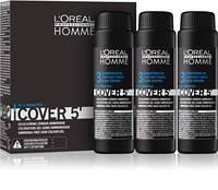 L'Oreal Professionnel Cover 5' - Безаміачний тонуючий гель для волосся 50 мл. #3 (темний шатен )