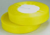 Лента из органзы желтая 2см ЛШ20-3