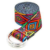 Ремень для йоги (183x3,8 см) FI-6975-15