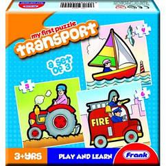 Пазл Frank Транспорт 15 элементов (FR_10)