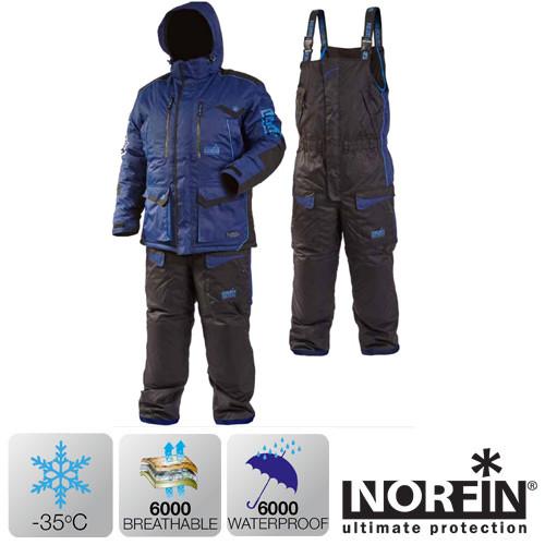 Зимний костюм Norfin DISCOVERY BLUE (-35°) р.S