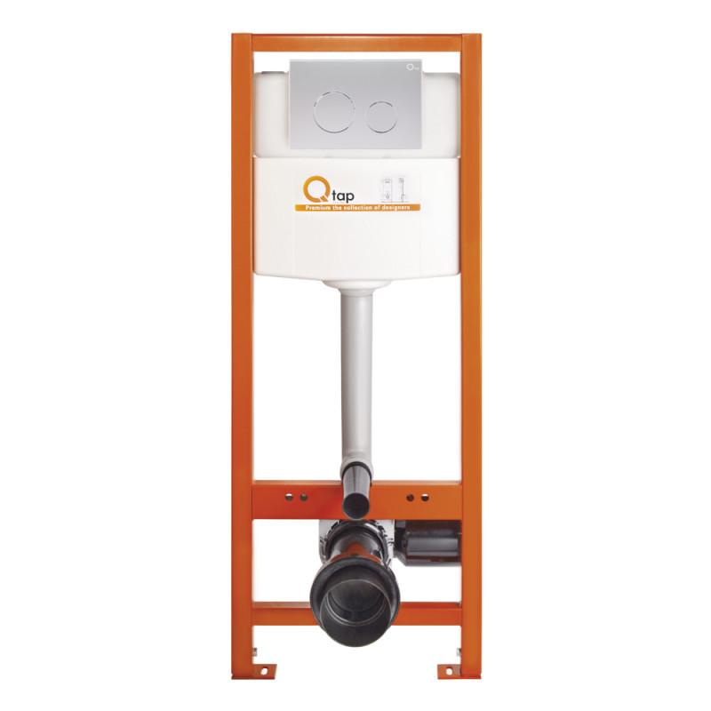 Инсталляция Q-tap Nest M425-M11SAT с панелью смыва Satin