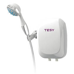 Проточный водонагреватель Tesy с душевой лейкой 5,0 кВт IWH50X02BAH
