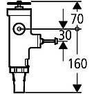 Сливной механизм для унитаза Grohe 43996000, фото 2
