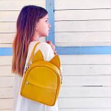 Рюкзак-сумка с ушками кота желтый (RKU_009_ZHL), фото 2
