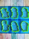 Набор Трафаретов + формочек вырубок для пряников Щенячий патруль, фото 2