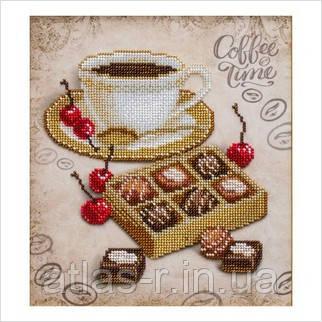 """А4 """"Конфеты к кофе"""" схема для частичной вышивки бисером"""