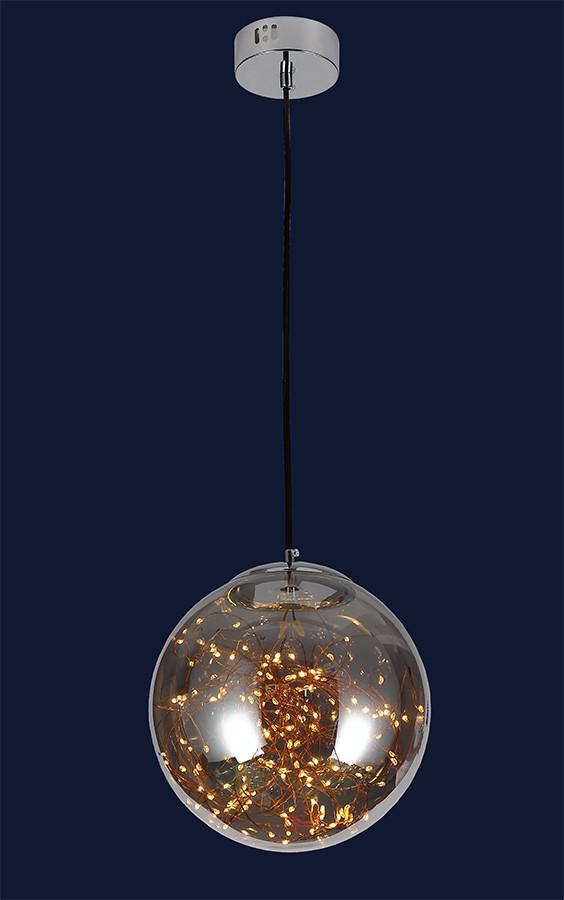 Светодиодный шар подвесной 752567-LED GRAY