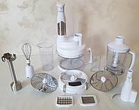 Блендер многофункциональный погружной  Rotex RTB 970-W, кухонный измельчитель