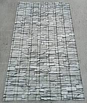 Профнастил для забора с рисунком под  камень  1,75мХ1,16м, фото 2