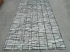 Профнастил для забору з малюнком під камінь 1,75мХ1,16м, фото 3