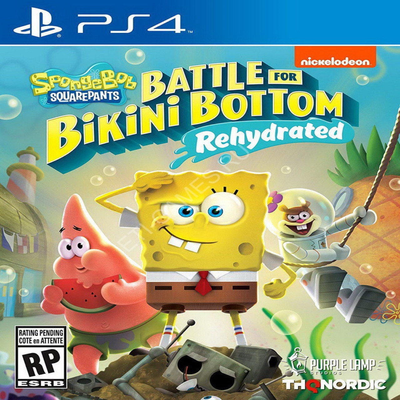 SpongeBob SquarePants: Battle for Bikini Bottom – Rehydrated (російські субтитри) PS4