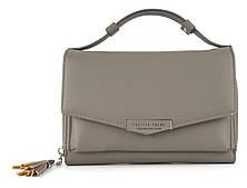 Женская кошелек сумочка барсетка Saralyn art. OLK8818 Серый