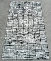 Профнастил для забора с рисунком под  камень  1,5мХ1,16м, фото 2