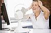 Вентилятор электрический бытовой настольный Domotec MS-1626 /16 для дома и офиса, 3 скорости, фото 2