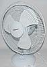 Вентилятор электрический бытовой настольный Domotec MS-1626 /16 для дома и офиса, 3 скорости, фото 3