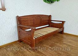 """Прямой кухонный диван со спальным местом из массива дерева """"Орфей Премиум"""" от производителя, фото 3"""