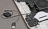 Универсальный столик для ноутбука с охлаждением 285х316х36 мм, фото 2