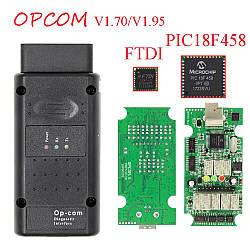 Автосканер для opel / saab Op - com 1.7 и новая версия 1.95 для Opel Vauxhall Автосканер для опель оп ком