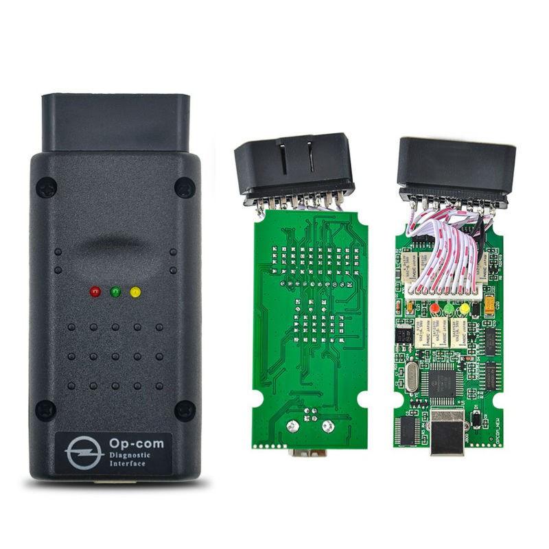 Автосканер для opel / saab Op - com 1.70 для Opel Vauxhall Автосканер для опель оп ком - фото 2