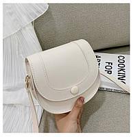 """Оригинальная женская мини-сумочка, клатч на плечо """"Jasmine"""" (кремовый)"""