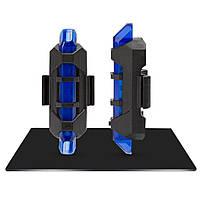Габаритный задний фонарь Robesbon светодиодный USB Blue