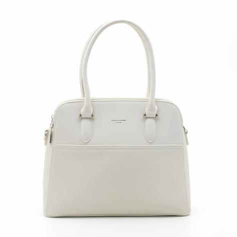 Женская сумка David Jones 6221-3T бежевая, фото 2