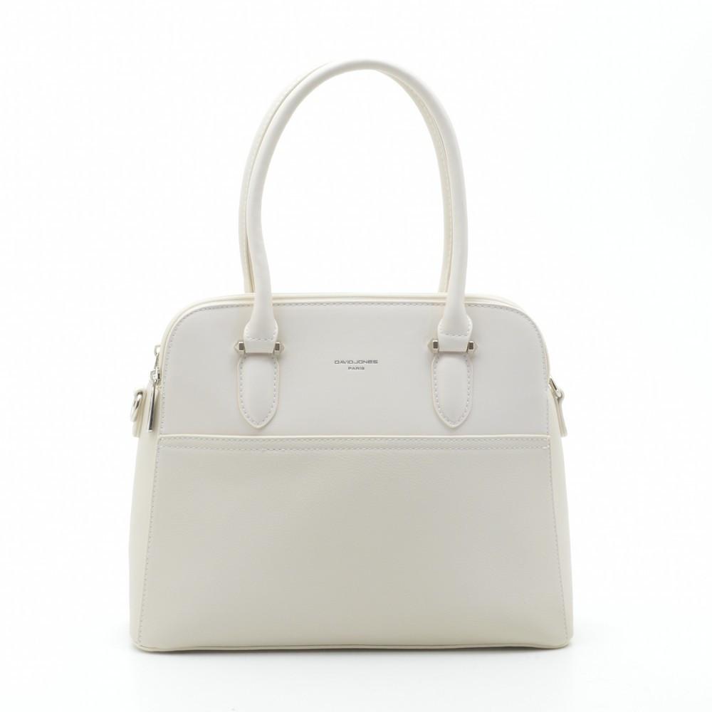 Женская сумка David Jones 6221-3T бежевая