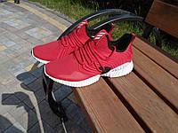 Мужские текстильные кроссовки Adidas красные